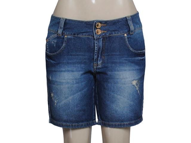 Bermuda Feminina Lado Avesso 89379 Jeans