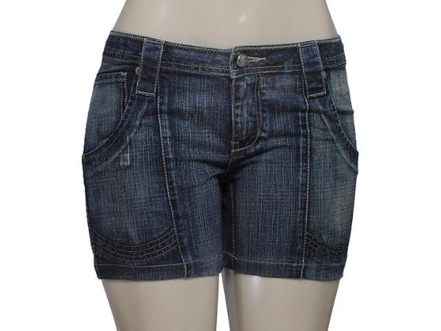 Bermuda Feminina Latreille 02582b Jeans