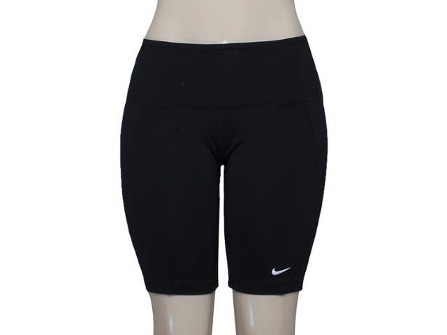 Bermuda Feminina Nike 446155-019 Foldover Tight Preto