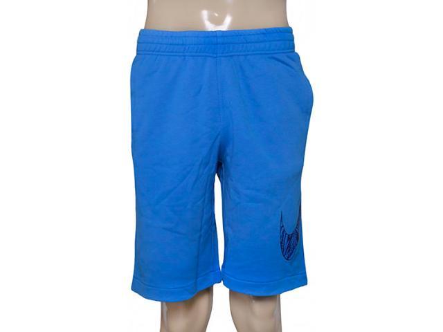 Bermuda Masculina Nike 727782-435 Club ft Shrt-tpcl Strm  Azul