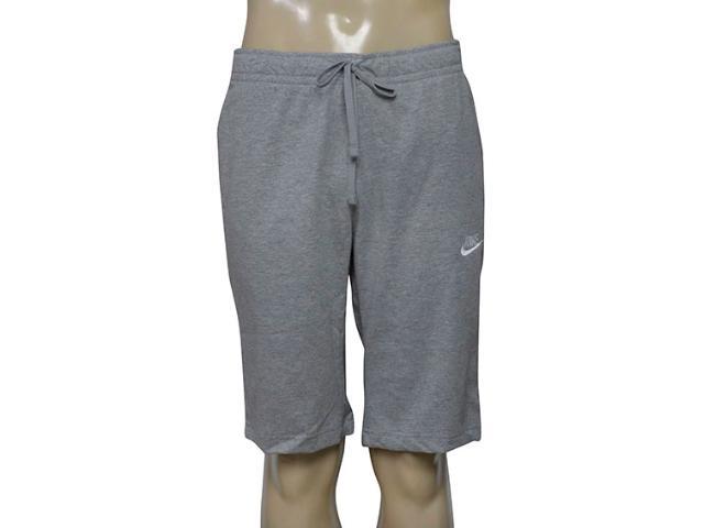Bermuda Masculina Nike 804419-063 Nsw Short Jsy  Mescla