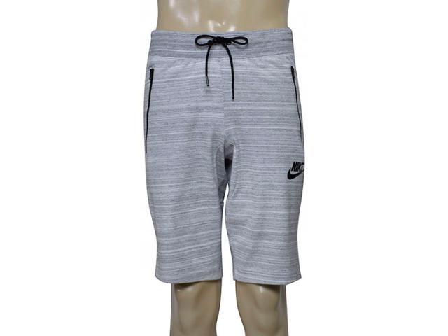 Bermuda Masculina Nike 837014-100 m Nsw Av15 Short Knit Mescla