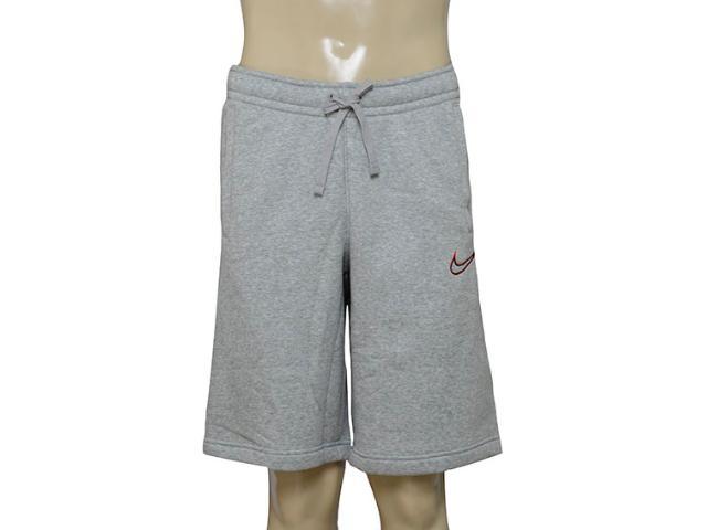 Bermuda Masculina Nike 804703-063 m Nsw Flc gx  Cinza