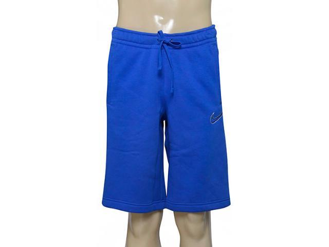 Bermuda Masculina Nike 804703-480 m Nsw Flc gx  Azul