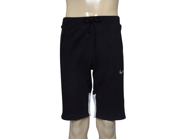 Bermuda Masculina Nike 727575-011 Advance 15 Fleece  Preto