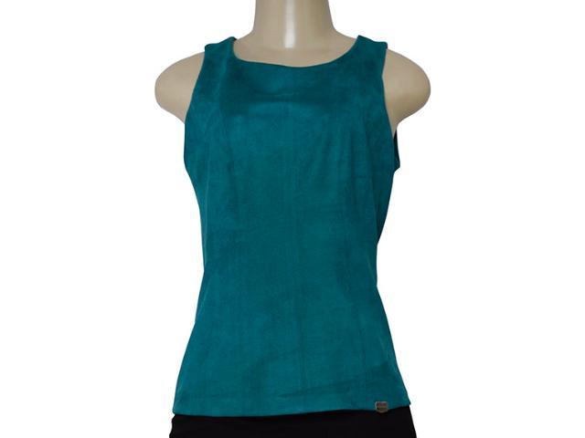 Blusa Feminina Borda Barroca 1001539 Verde