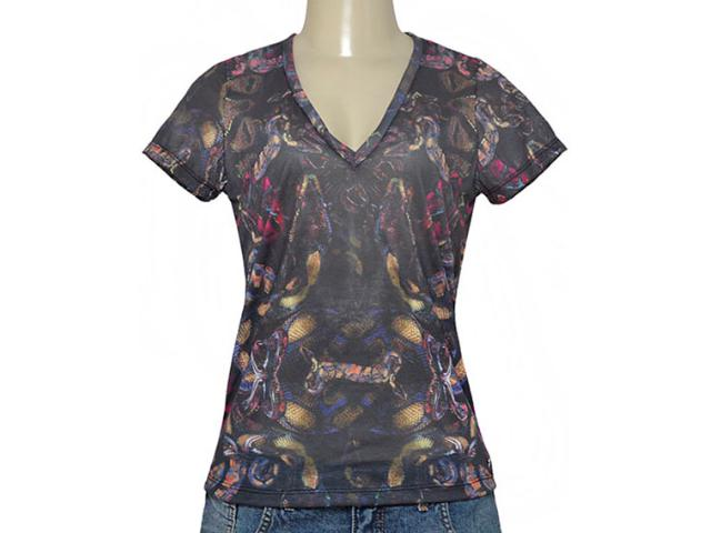 Blusa Feminina Cavalera Clothing 09.02.2333 Preto Color