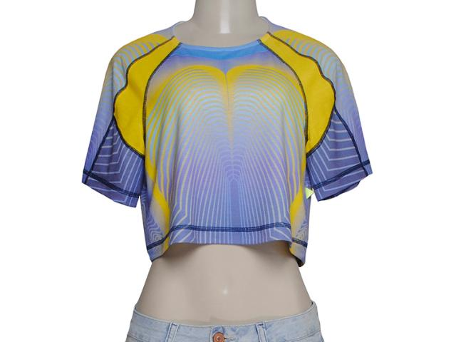 Blusa Feminina Coca-cola Clothing 343200817 Amarelo/roxo