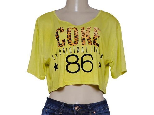 Blusa Feminina Coca-cola Clothing 343201223 Lima