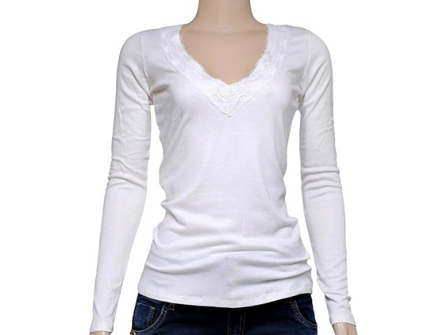 Blusa Feminina Coca-cola Clothing 343201259 Off White