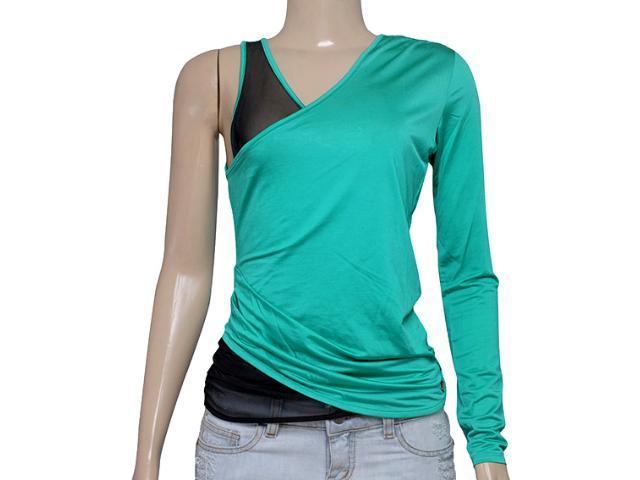 Blusa Feminina Coca-cola Clothing 363202333 Verde Oceano