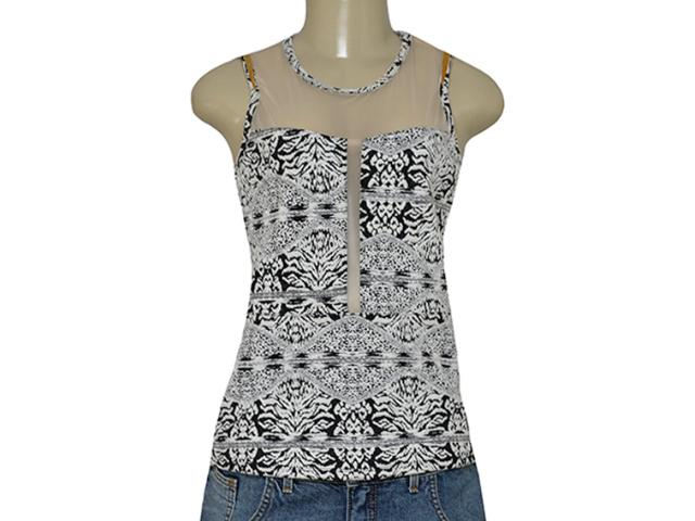 Blusa Feminina Coca-cola Clothing 363203163 Off White/preto