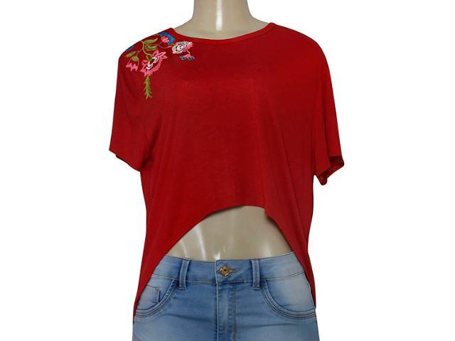 Blusa Feminina Coca-cola Clothing 343201943 Vermelho