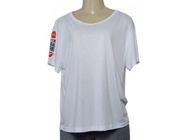 Blusa Feminina Coca-cola Clothing 343202020 Branco