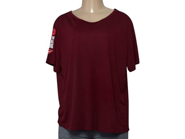 Blusa Feminina Coca-cola Clothing 343202020 Bordo