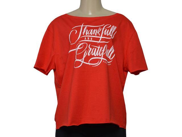 Blusa Feminina Coca-cola Clothing 343202027 Vermelho