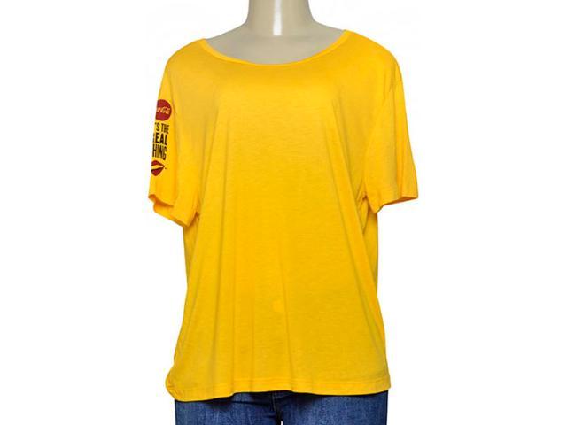 Blusa Feminina Coca-cola Clothing 343202020 Amarelo