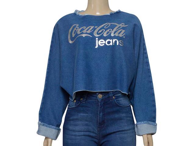 Blusa Feminina Coca-cola Clothing 363203464 Azul