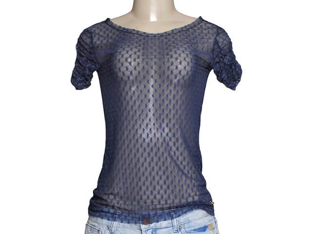 Blusa Feminina Dona Florinda 37940 Azul