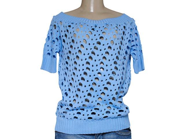 Blusa Feminina Dopping 015657525 Azul Claro