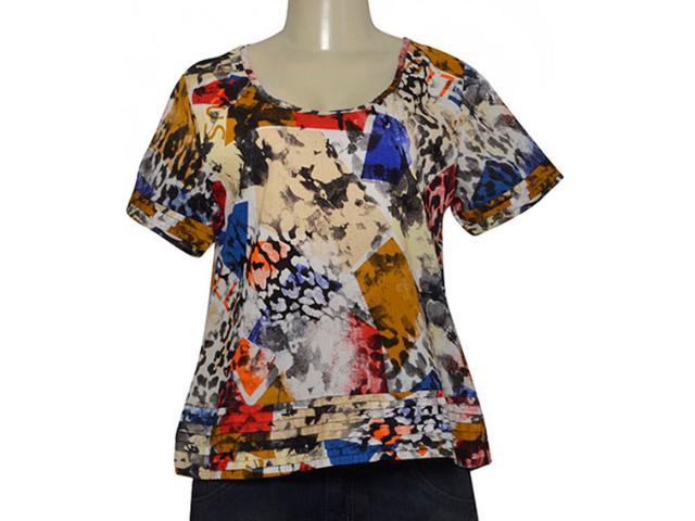 Blusa Feminina Ellus 43e817 Estampado