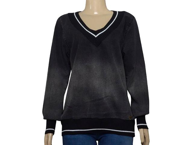Blusa Feminina Index 05.04.000262 Preto/grafite
