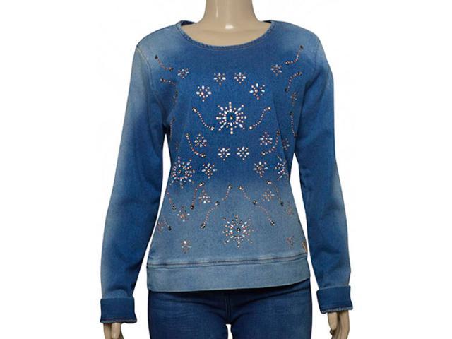 Blusa Feminina Index 05.04.000246 Jeans Claro