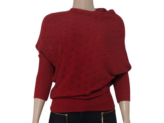 Blusa Feminina Intuição 133300 Vermelho