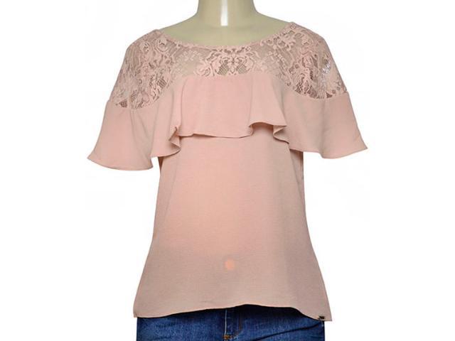 Blusa Feminina Lado Avesso 105441 Rose