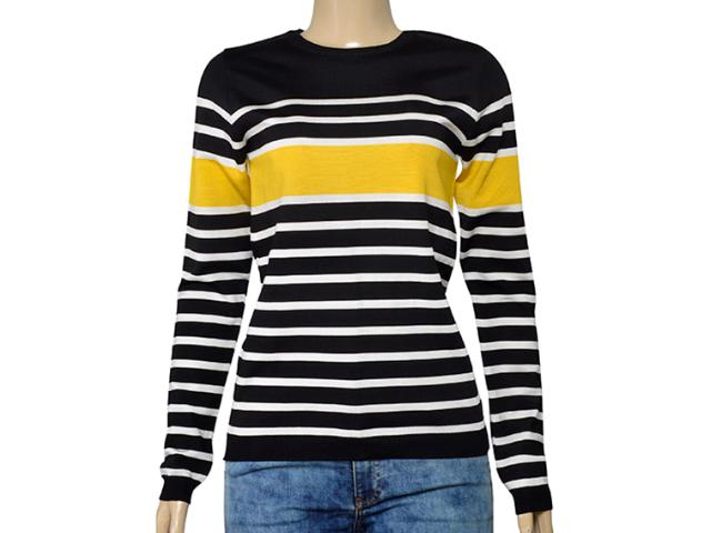 Blusa Feminina Lafort Ry1947 Preto/amarelo