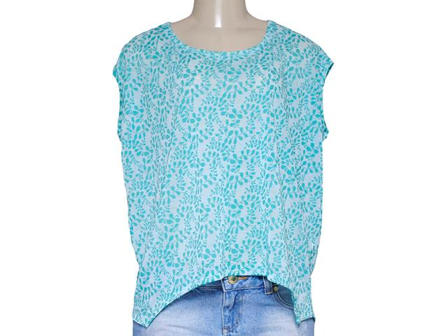 Blusa Feminina M.officer 116206012 Verde Mar