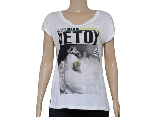 Blusa Feminina M.officer 116306066 Off White