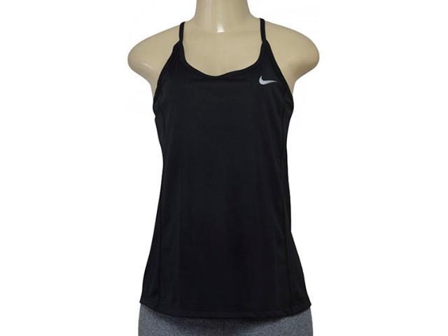 Blusa Feminina Nike 831522-010 Dry Miler Preto