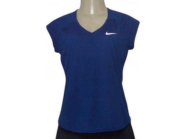 Blusa Feminina Nike 728757-492 Pure Top Azul Escuro