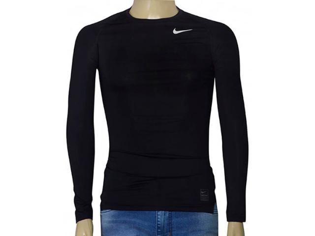 Blusa Masculina Nike 703088-010 Pro Combat Cool Compression  Preto