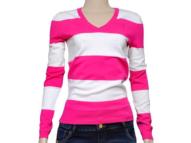 Blusa Feminina Tommy Thrm37648682 Rosa