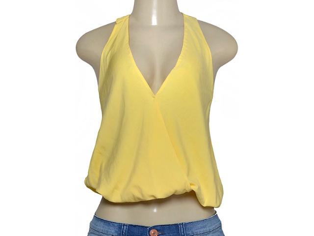 Blusa Feminina Triton 361403117 Amarelo