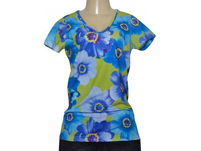 Blusa Feminina Triton 341400366 Azul