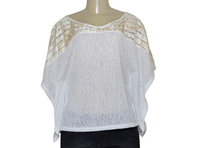 Blusa Feminina Zinco 103063 Branco