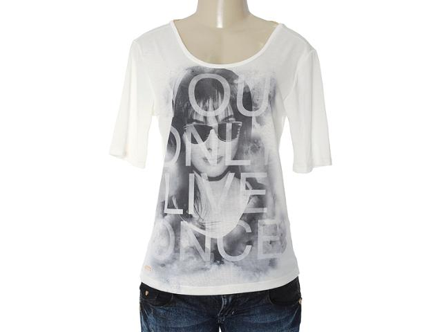 Blusa Feminina Dopping 015653107 Off White