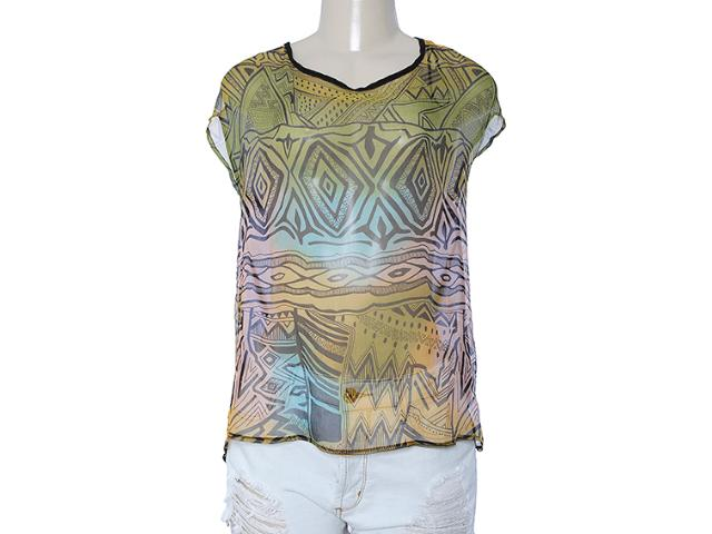 Blusa Feminina Index 05.06.000130 Preto/color