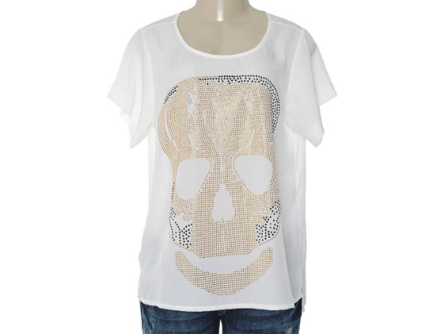 Blusa Feminina M.officer 115512012 Off White
