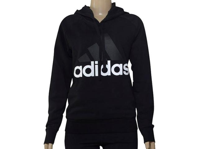 Blusão Feminino Adidas S97081 Ess Lin oh Preto