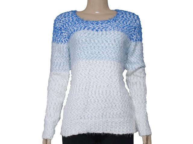 Blusão Feminino Alpelo 43745 Azul/branco