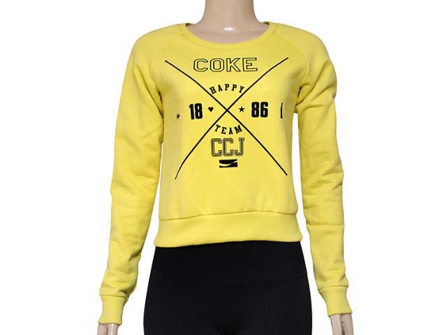 Blusão Feminino Coca-cola Clothing 403200216 Amarelo