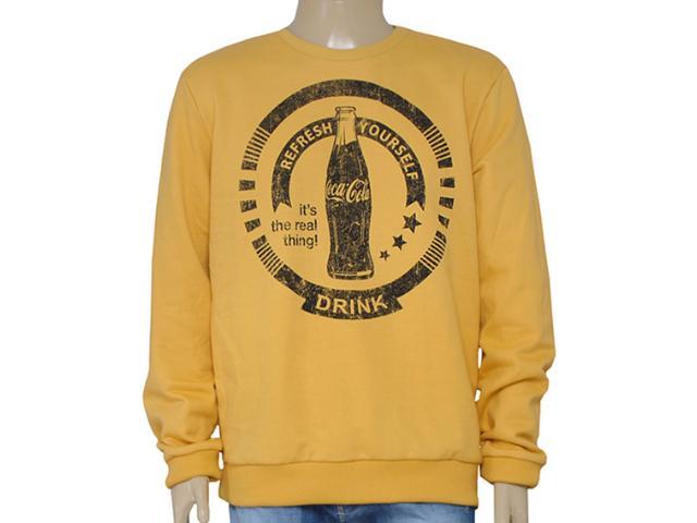 Blusão Masculino Coca-cola Clothing 413200238 Amarelo
