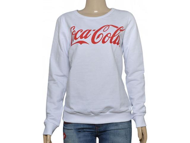 Blusão Feminino Coca-cola Clothing 403200282 Branco