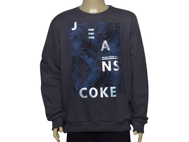 Blusão Masculino Coca-cola Clothing 413200262 Grafite