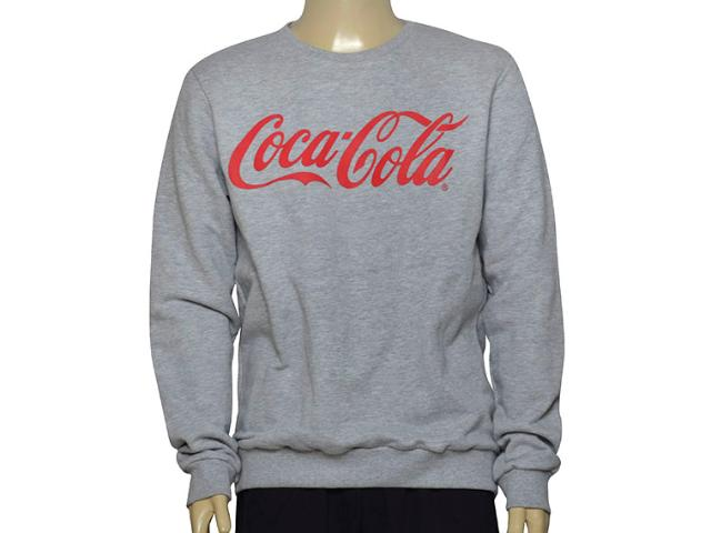 Blusão Masculino Coca-cola Clothing 413200259 Mescla