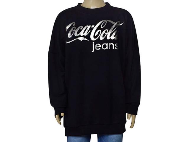 Masculino Blusão Coca-cola Clothing 273200003 Preto